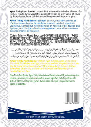 plant booster fast growing